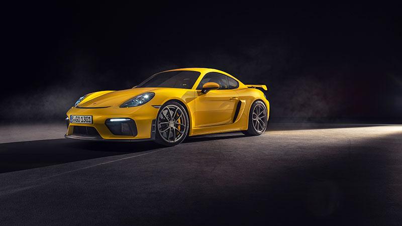 Due nuovi modelli di vertice con motore aspirato: Porsche 718 Spyder e 718 Cayman GT4