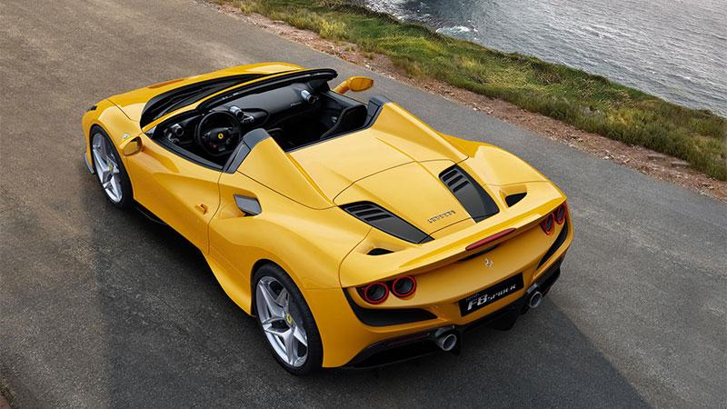 Ferrari F8 Spider: l'evoluzione della specie