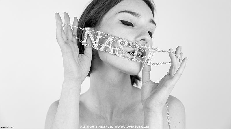 Marta - Modella di copertina di ADVERSUS - Foto Alessio Cristianini