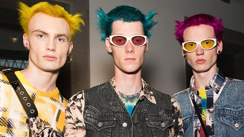 Uomini e colore capelli inverno 2020