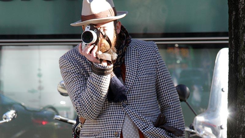 Street style moda uomo inverno 2020. Parliamo di quadri e quadretti. Ecco come portarli