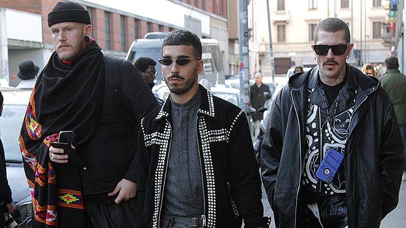 Street style uomo. La moda per il 2020