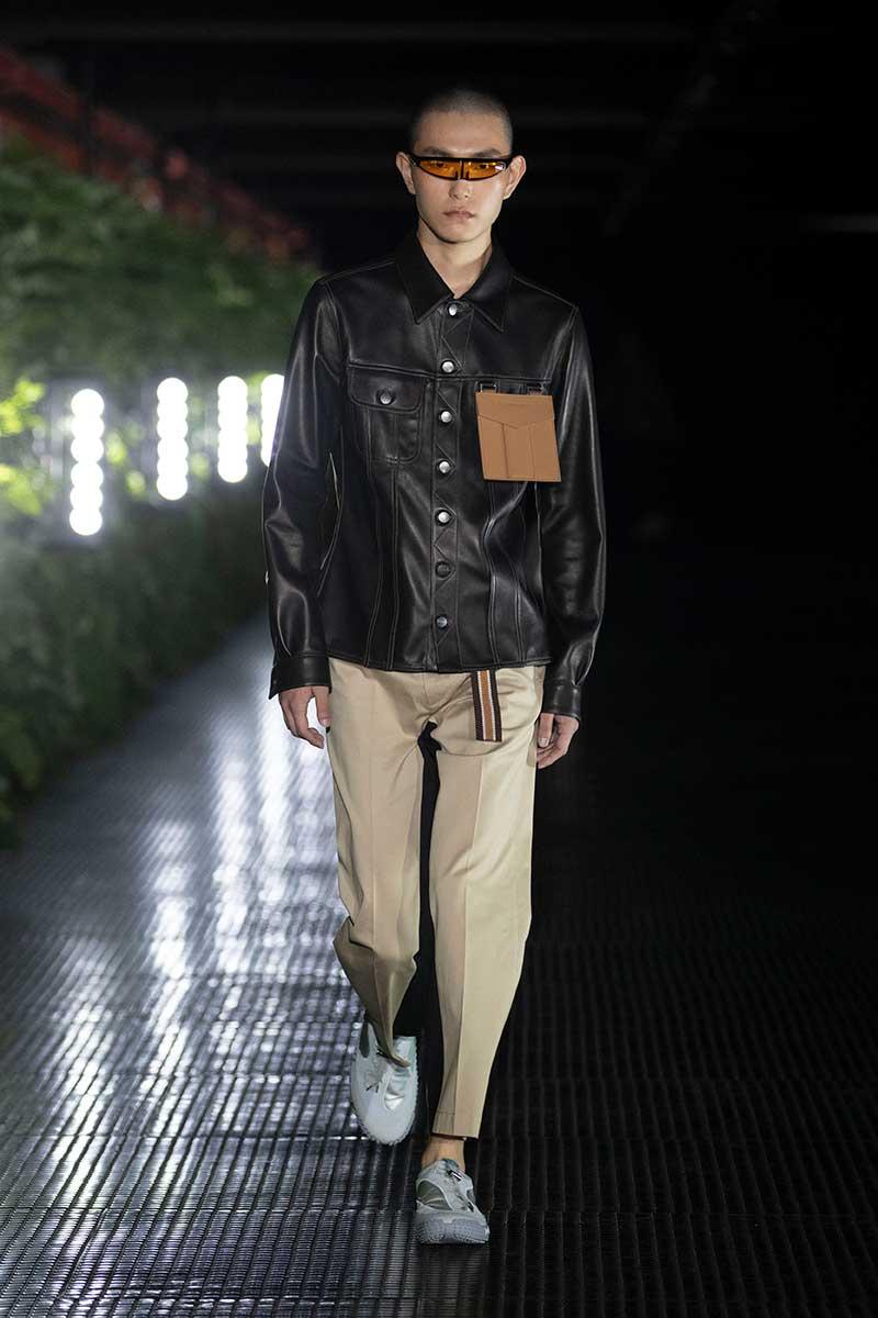 Moda uomo: Pelle -Palm Angels Primavera Estate 2020