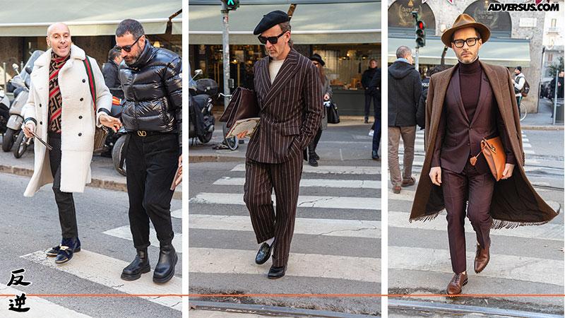 Street style uomo Milano 2020 - Foto Charlotte Mesman