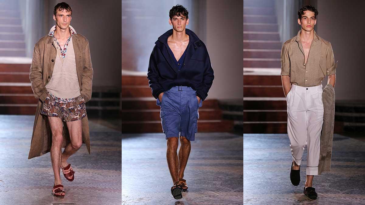Moda uomo estate 2020. 3 volte casual. Ecco come vestirsi in 'relaxed mode' ma sempre trendy e alla moda - Sfilata Pal Zileri - Foto Mauro Pilotto