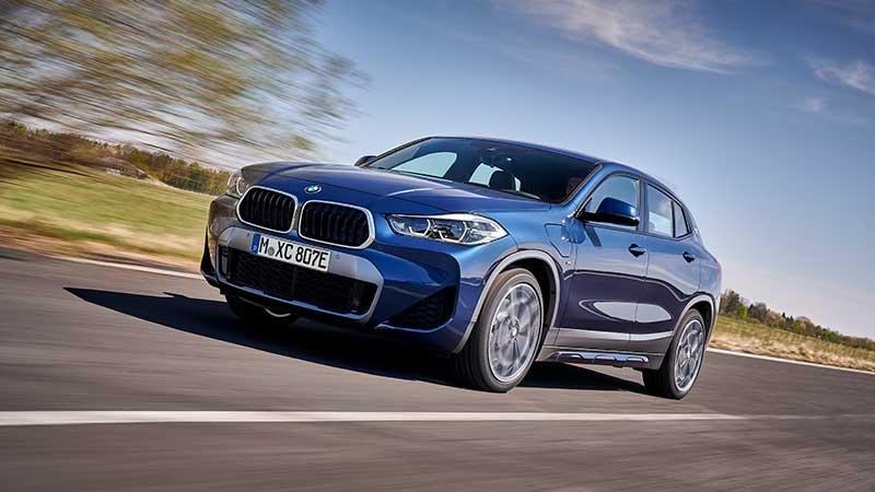 La nuova BMW X2 xDrive25e