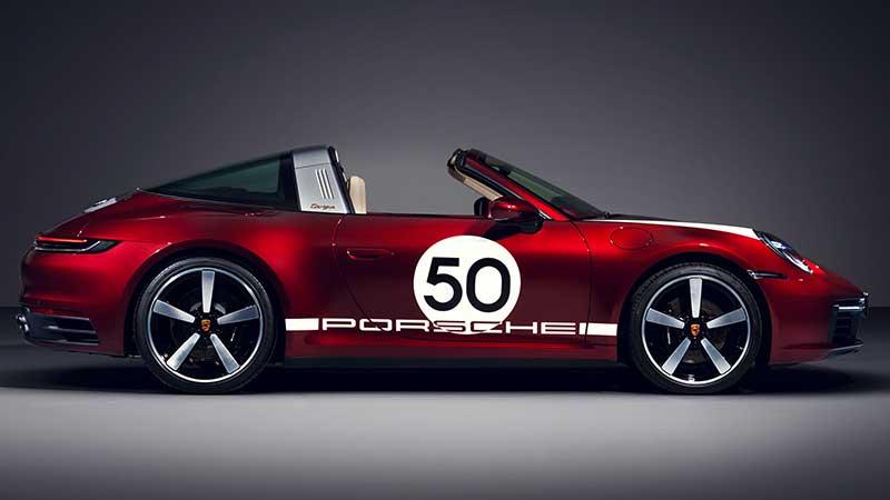 Omaggio alla tradizione: la 911 Targa 4S Heritage Design Edition