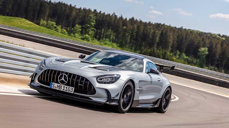 La punta di diamante della famiglia AMG GT: Nuova Mercedes-AMG GT Black Series