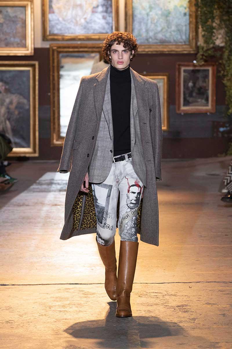 Tendenze moda uomo autunno inverno 2020 2021. Ecco le ultime tendenze jeans! - Foto Etro
