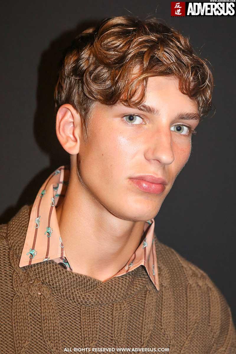 Tagli di capelli uomo. Sfilata Pal Zileri - Foto Mauro Pilotto