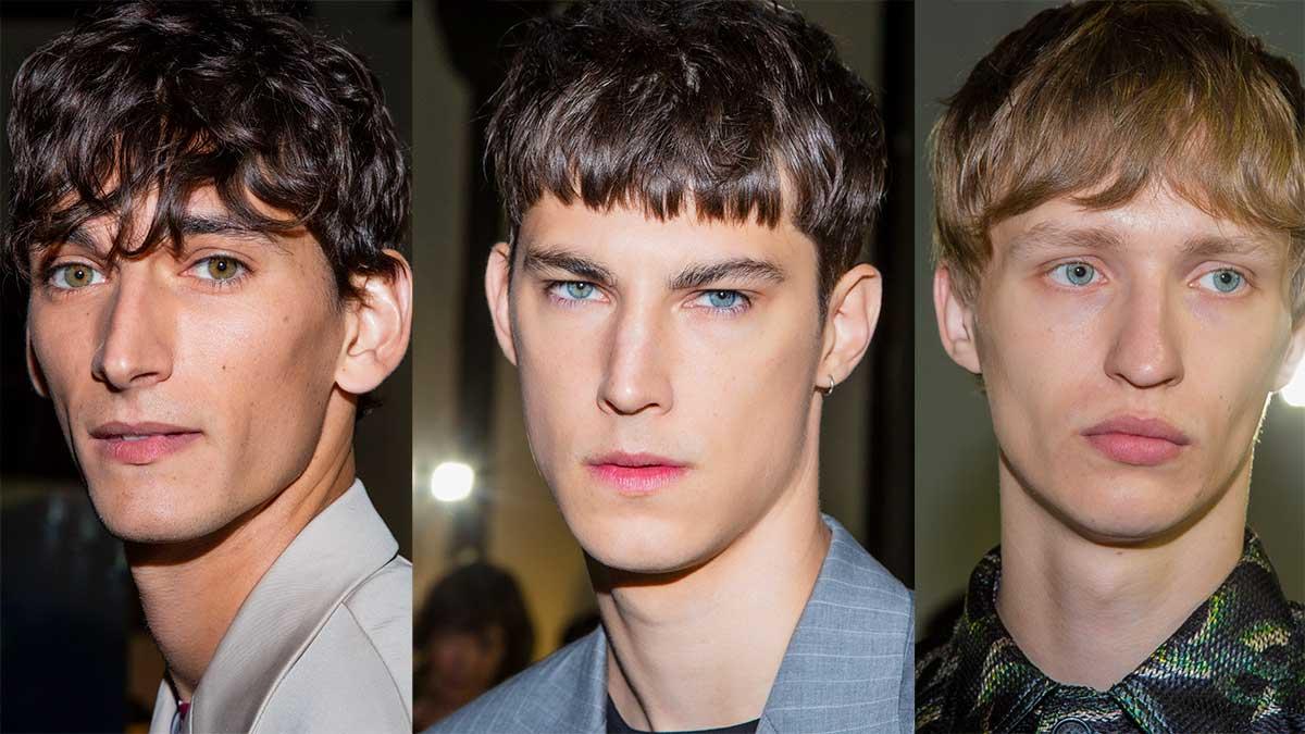 Tendenze capelli uomo estate 2020. Finalmente un taglio che sta bene a tutti, un taglio di capelli super cool - Sfilata John Richmond Foto Charlotte Mesman