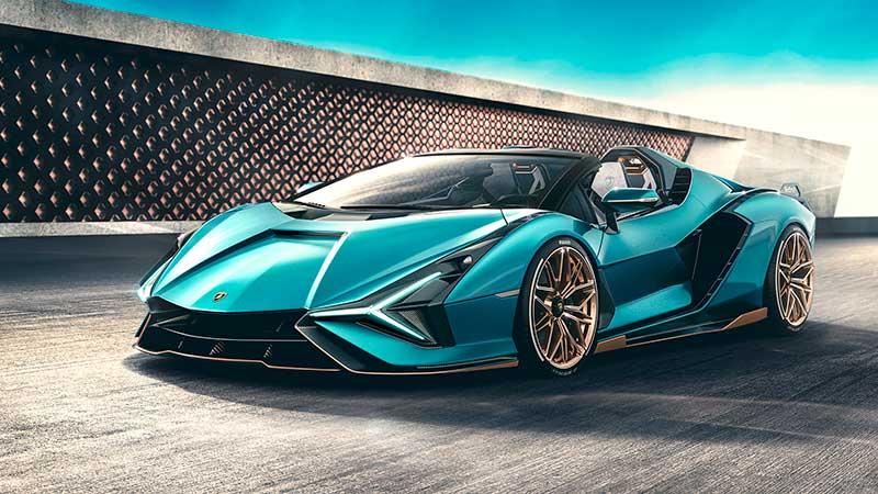 Lamborghini Sián Roadster: tecnologia del futuro a cielo aperto