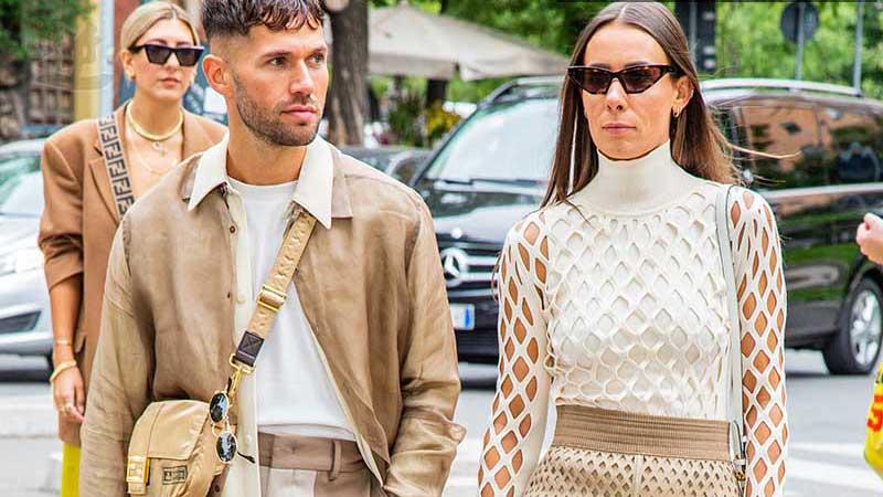 Nuove tendenze moda uomo estate 2020. Beige e cammello sono i colori della moda - Foto Charlotte Mesman