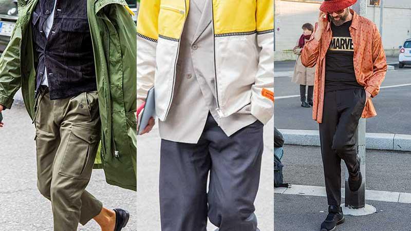 La moda uomo quando piove... street style uomo 2020. Ecco le nuove tendenze - Foto Charlotte Mesman