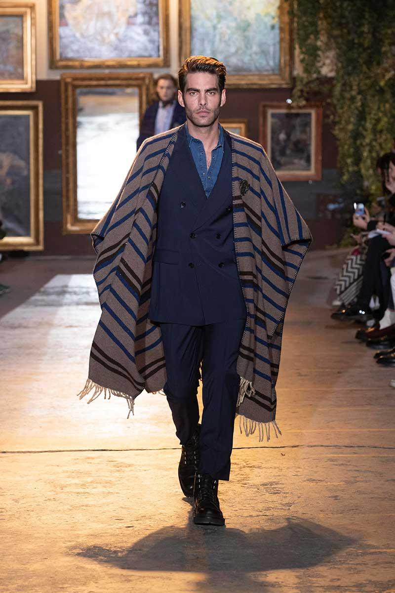 Nuove tendenze moda uomo autunno inverno 2020 2021 - Sfilata Etro - Photo courtesy of Etro