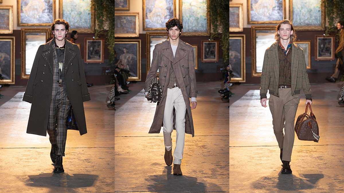 Nuove tendenze moda uomo autunno inverno 2020 2021 - Sfilata Etro - Photo courtesy of Etro