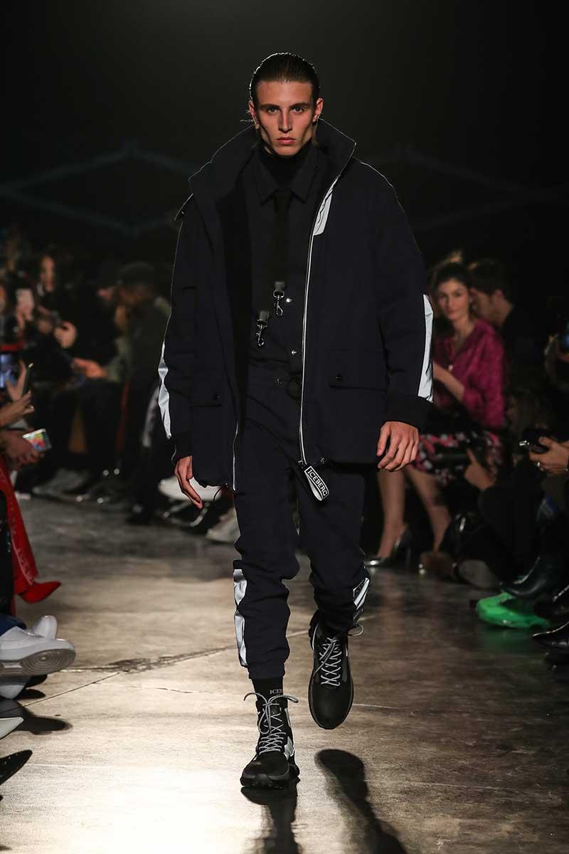 Tre idee moda uomo sportive e trendy per l'autunno. Tendenze moda uomo autunno inverno 2020 2021 - Photo courtesy of Iceberg
