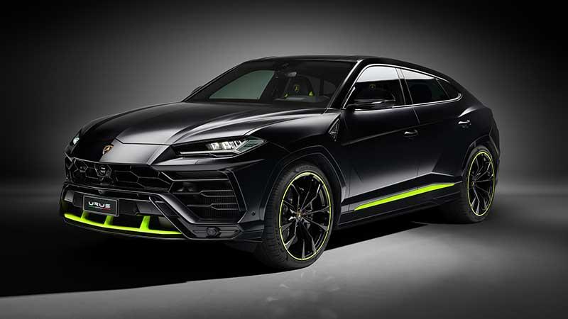 Lamborghini presenta la Urus Graphite Capsule