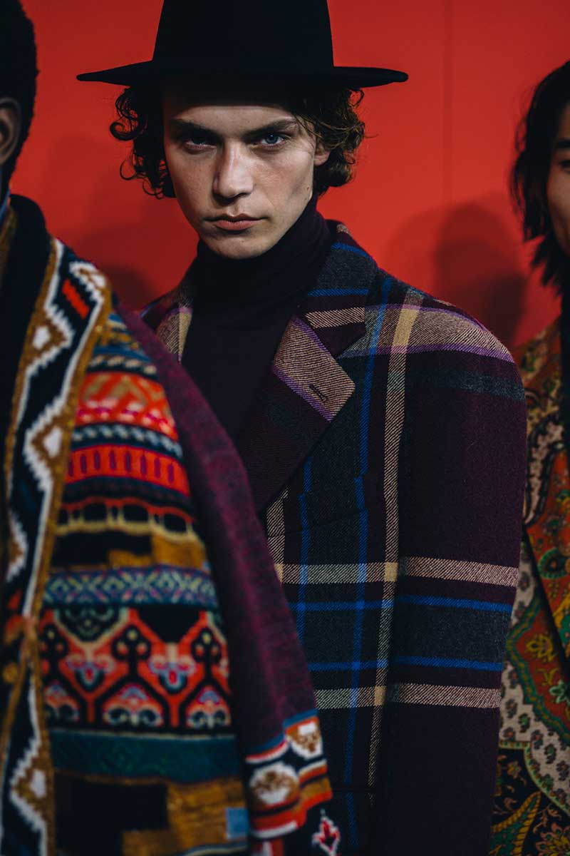 Etro Uomo Autunno Inverno 2020 2021 - Photo courtesy of Etro