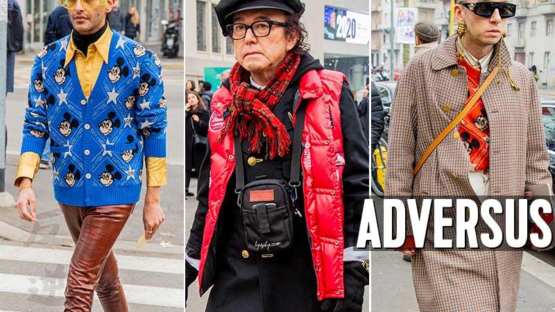 Moda uomo street style autunno inverno 2020 2021 - Foto Charlotte Mesman