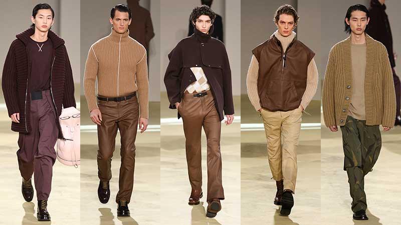 Tendenze moda uomo inverno 2020 2021. Il casualwear diventa elegante. 10 consigli di stile - Sfilata Salvatore Ferragamo - Foto Mauro Pilotto
