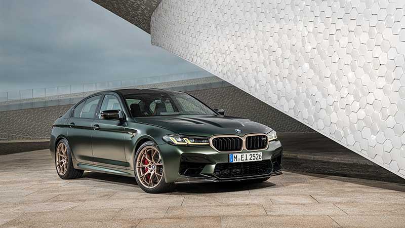 La nuova BMW M5 CS
