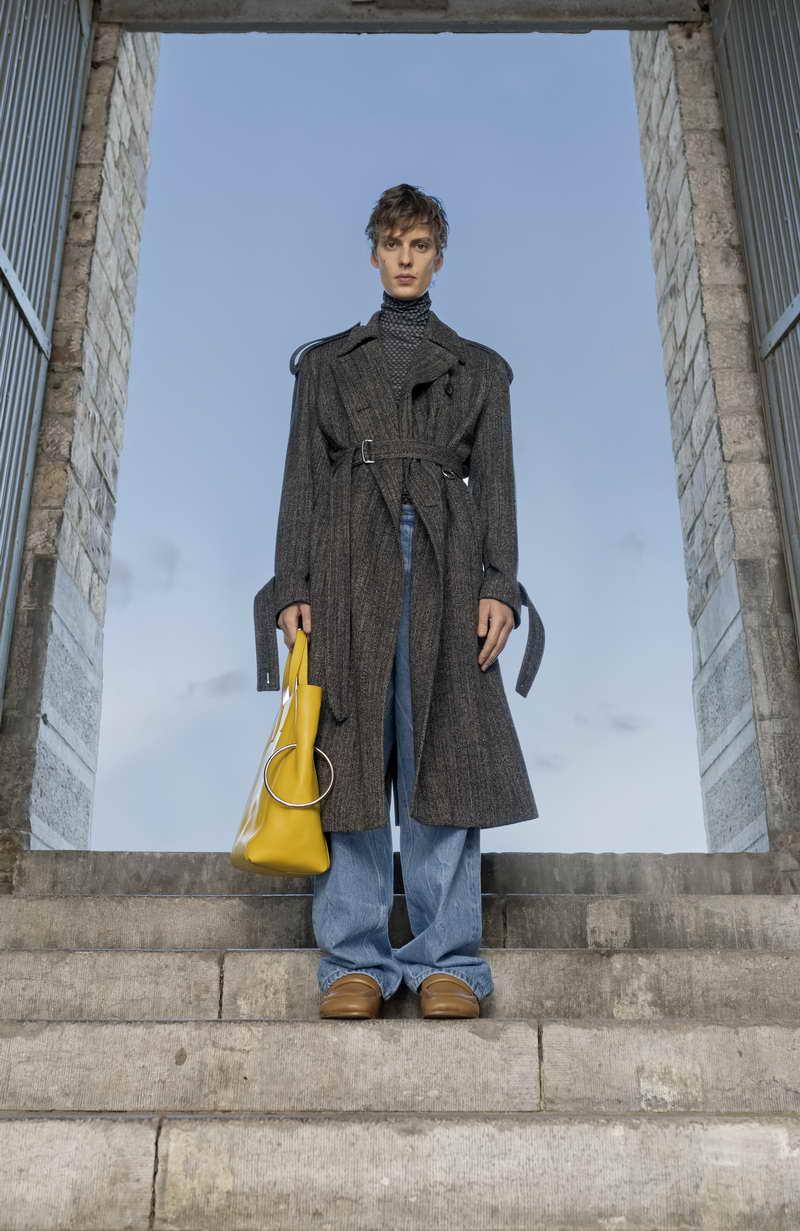 Dries Van Noten Collezione Moda Uomo Autunno Inverno 2021 2022