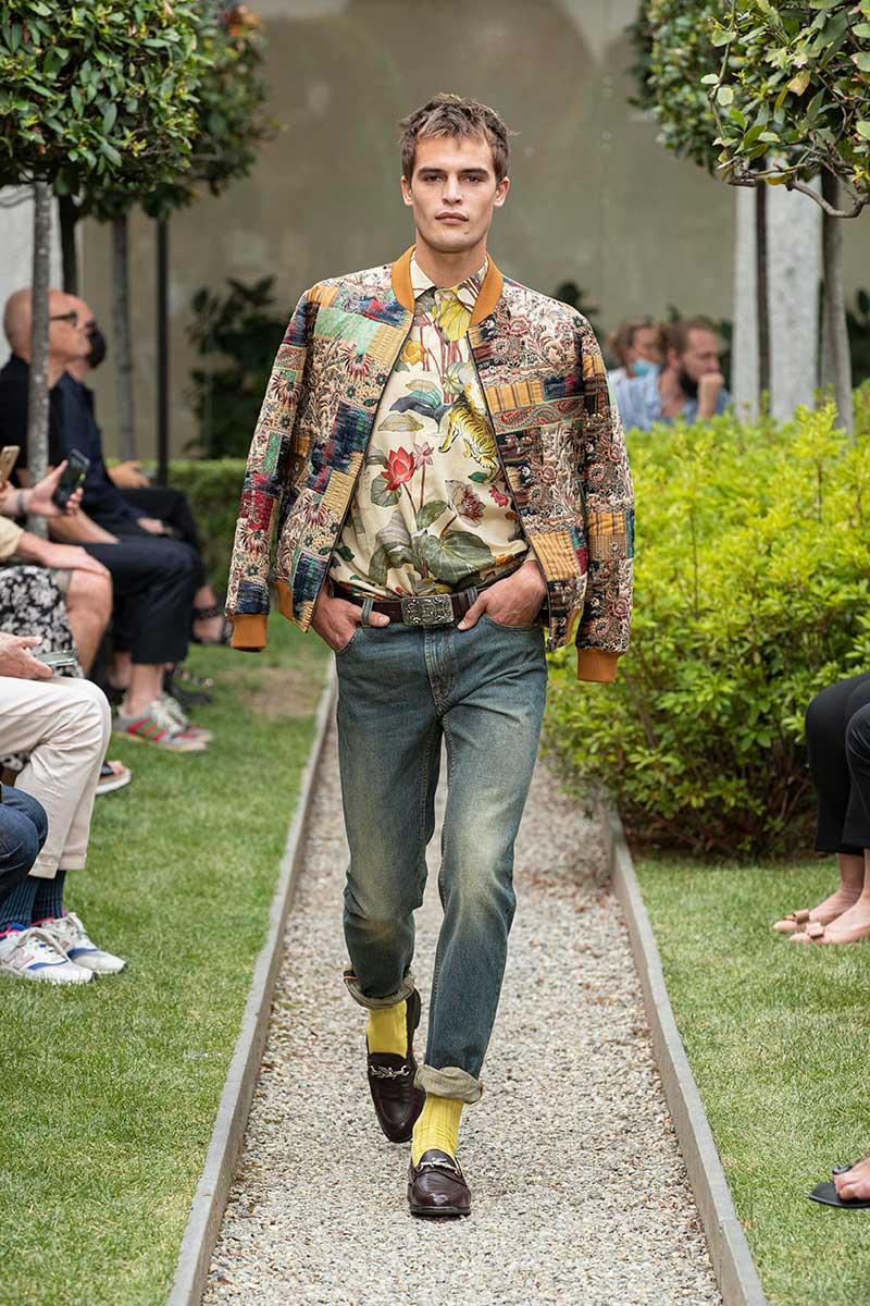 Tendenze moda uomo primavera estate 2021. Ecco i jeans che indosseremo! - Photo: courtesy of Etro