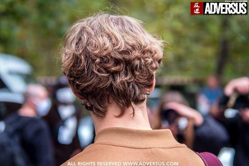 Tendenze capelli uomo 2021. Non abbiamo più paura del volume nei capelli! - Foto Charlotte Mesman