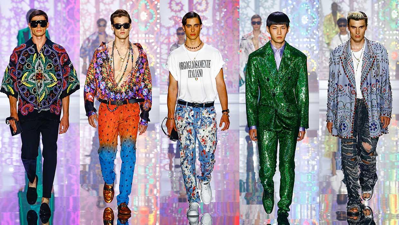 Dolce & Gabbana collezione uomo estate 2022. Photo: courtesy of Dolce & Gabbana
