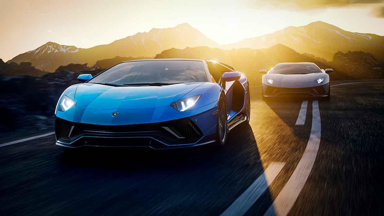 La Lamborghini Aventador LP 780-4 Ultimae. It takes time to become timeless