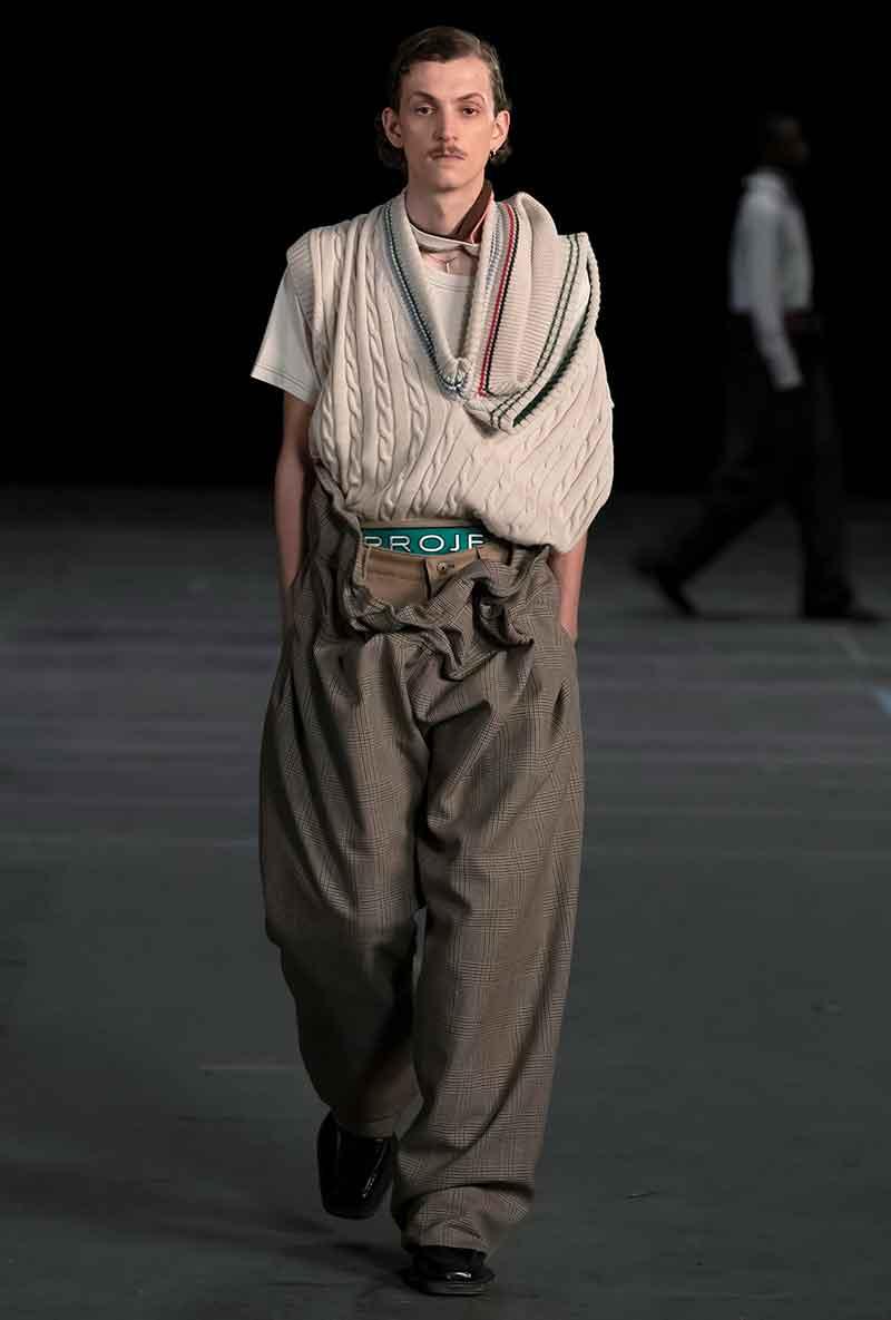 Tendenze moda uomo 2021. La Spencer è assolutamente trendy. Ecco come indossarlo - Photo Courtesy of Y/Project AI 2021 2022
