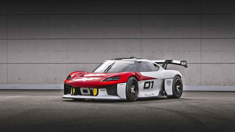 Porsche presenta il futuristico prototipo Mission R