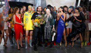 Andreas Kronthaler per Vivienne Westwood Primavera Estate 2022
