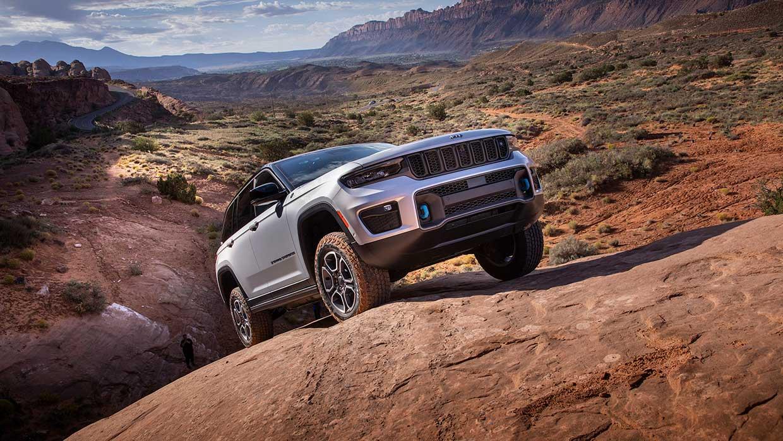 Nuova Jeep® Grand Cherokee 2022 - la Grand Cherokee più tecnologicamente avanzata, lussuosa e dalle performance 4x4 migliori di sempre