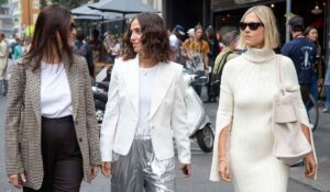Moda street style inverno 2021 2022. Le influencers da Max Mara