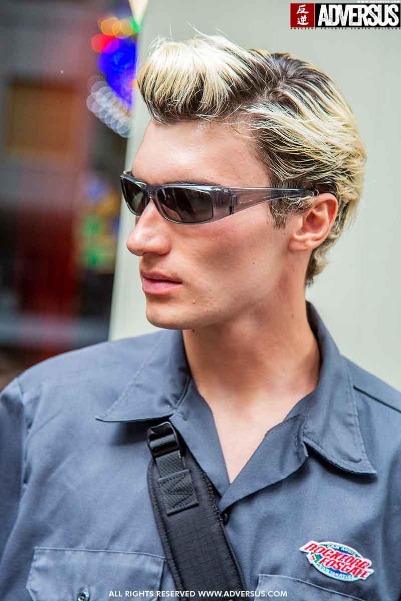 Tendenze capelli uomo inverno 2021 2022. È il momento di osare - Foto Charlotte Mesman
